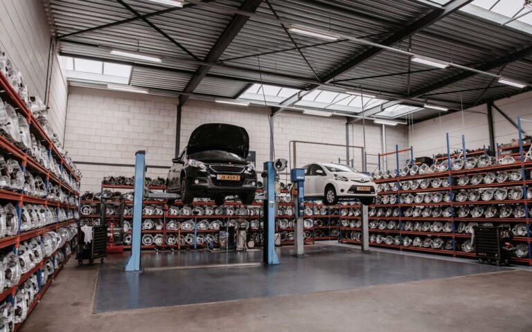 garage overzicht